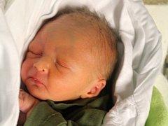 Filip Pataki, Prostějov, narozen 11. listopadu, 48 cm, 2550 g