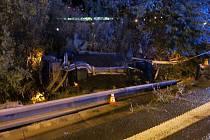Havárie mercedesu na R46