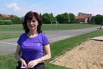 Lenka Stojanová ze Základní školy Melantrichova je organizátorkou prostějovského Odznaku všestrannosti olympijských vítězů.