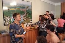 Tištínská světoběžnice Eva Formánková tentokrát přednášela o Mexiku. Foto: pro Deník/Alena Wagnerová