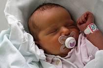 Klára Lexová, Prostějov, narozena 20. ledna, 50 cm, 3500 g