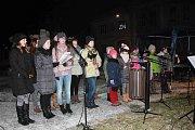 Česko zpívá koledy v Němčicích nad Hanou 2016