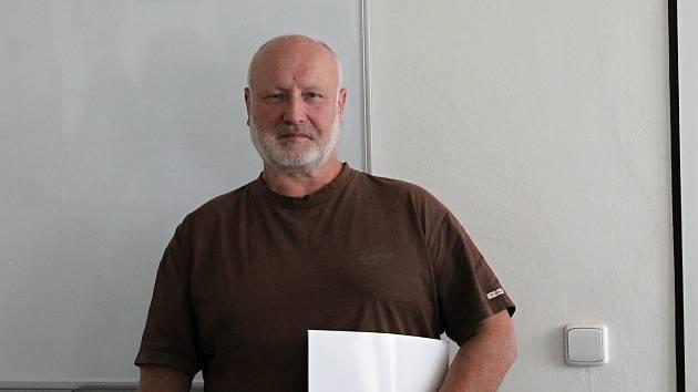 Řidič kamionu Vladimír Čížek byl oceněn policisty