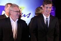 Předávání cen Sportovec Olomouckého kraje 2012: Petr Uličný a Tomáš Berdych