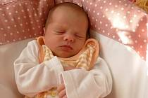 Alžběta Vavrdová, Horka nad Moravou, narozena 4. listopadu 2020míra 49 cm, váha 3120 g