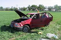 Vážná nehoda mezi Smržicemi a Mostkovicemi
