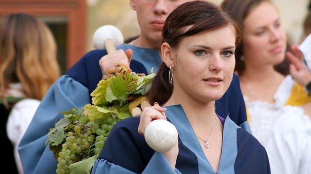 Plumlovské vinobraní. Ilustrační foto