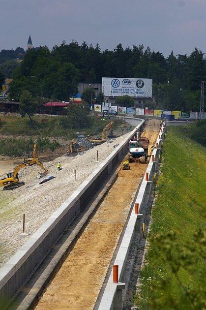 Revitalizace plumlovské přehrady - 15.července 2013