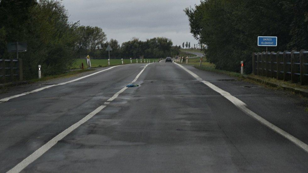 Uzavírka silnice 150 mezi Prostějovem a Dubem nad Moravou