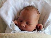 Tobiáš Jánoško, Prostějov, narozen 2. června v Prostějově, míra 52 cm, váha 3750 g