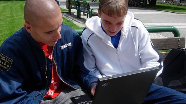 Bezdrátové připojení umožňuje dostat se na internet kdykoliv a kdekoliv.