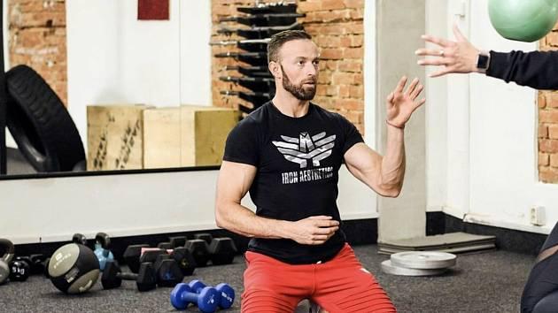 Jan Kopečný, majitel fitness centra v Prostějově