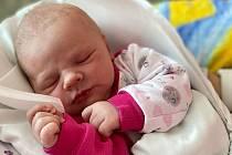 Anna Štěpaníková, Přerov, narozena 12. dubna 2021 v Přerově, míra 47 cm, váha 3350 g