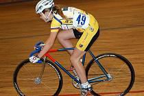 Kristýna Mráčková v závodě