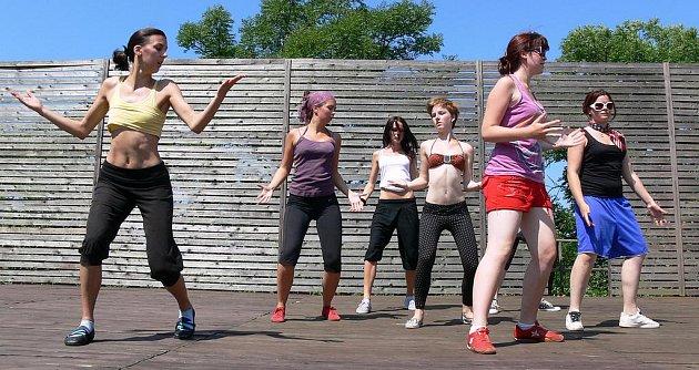 Taneční workshop na téma Erbenovy Kytice na plumlovském zámku