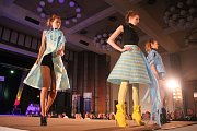 Studentská módní přehlídka Zlatá Jehla v Prostějově