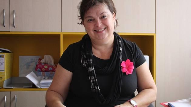 Blanka Kolečkářová, starostka Držovic