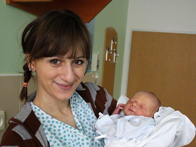 Matyáš Kejík s maminkou Zuzanou, Kroměříž, narozen 22. ledna, 51 cm, 3550 g