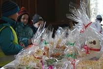 Tradiční výstava velikonočních beránků v Národě