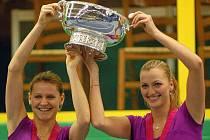 Lucie Šafářová, Petra Kvitová a Fed Cup v Prostějově