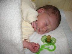 Veronika Froncová, Prostějov, narozena 12. srpna, 49 cm, 3200 g