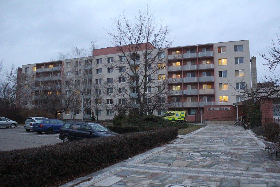 Domov pro seniory v Nerudově ulici v Prostějově