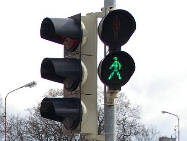 Světelný semafor