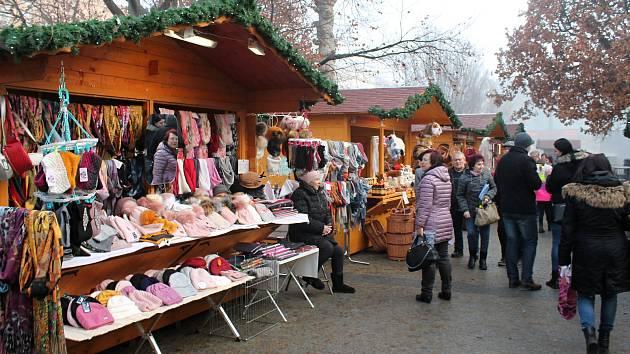 Vánoční trhy na Prostějovsku. Ilustrační foto
