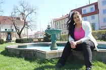 Kapitánka ženského amatérského sportovního týmu Kristýna Pavúčková