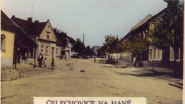 Čelechovice na Hané. Historické foto