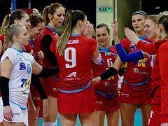 Volejbalistky Prostějova zvládly s přehledem čtvrtfinále s Přerovem