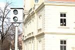 Stávající nefunkční radary na měření rychlosti v Prostějově. 21.2. 2020