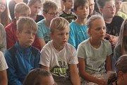 První školní den v Čechách pod Kosířem