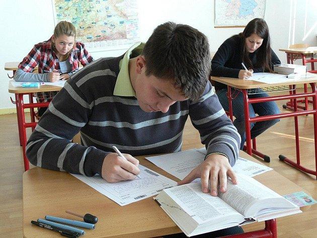 Generálka na státní maturitní zkoušky na RG a ZŠ města Prostějova