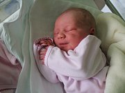 Sofie Šimková, Prostějov, narozena 26. května, míra 45 cm, váha 2750 g