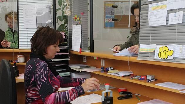 Podávání daňového přiznání na Finančním úřadě v Prostějově