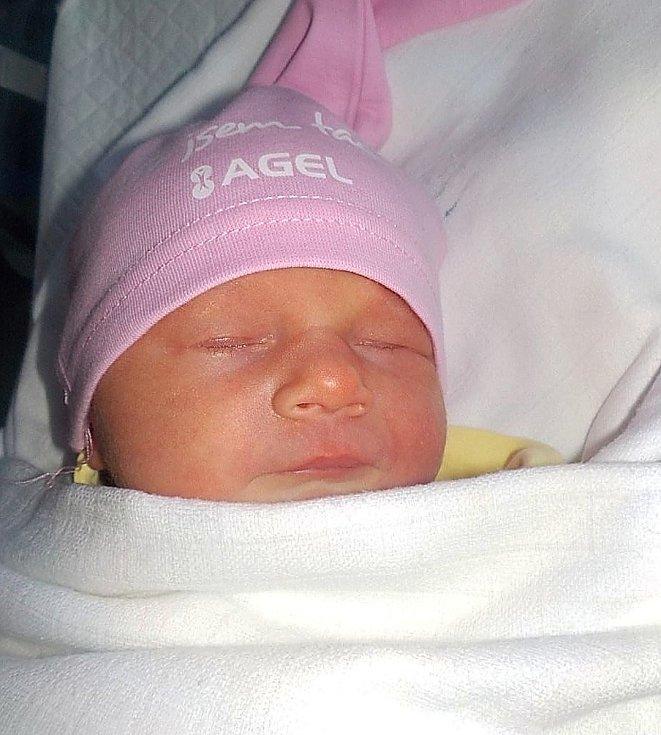 Eliška Vykopalová, Olšany u Prostějova, narozena 7. května 2021 v Prostějově, míra 49 cm, váha 3350 g