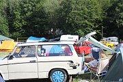 Trabant sraz Morava v kempu Žralok na Plumlově 2019