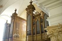 Varhany v kostele Povýšení sv. Kříže