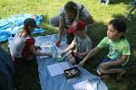 Park v Čechách během soboty patřil dětem.