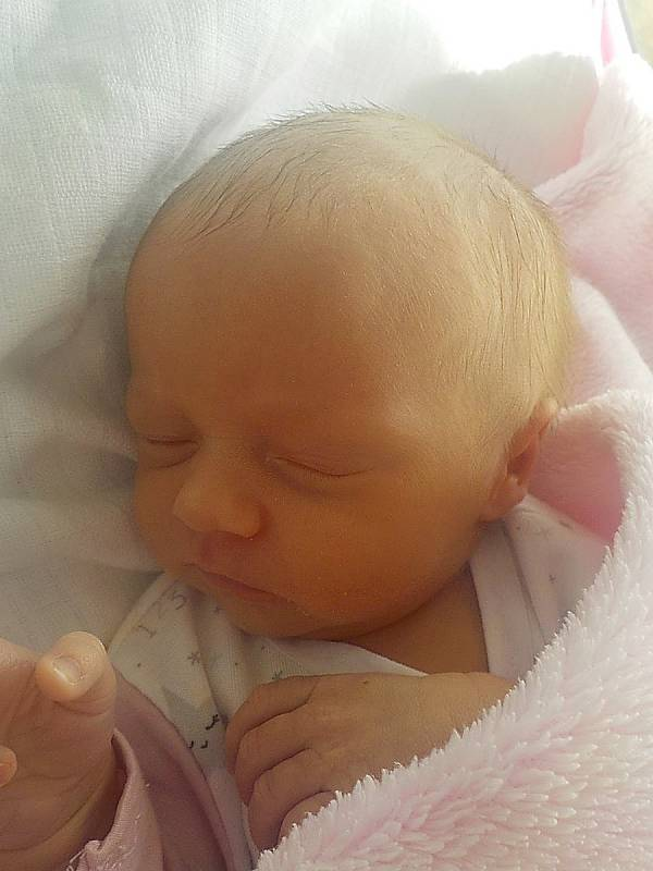 Izabela Nečacká, Prostějov, narozena 25. března 2021 v Prostějově, míra 46 cm, váha 2500 g