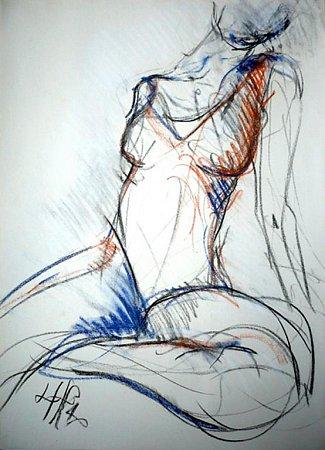 Kresba Lenky Horňákové Civade