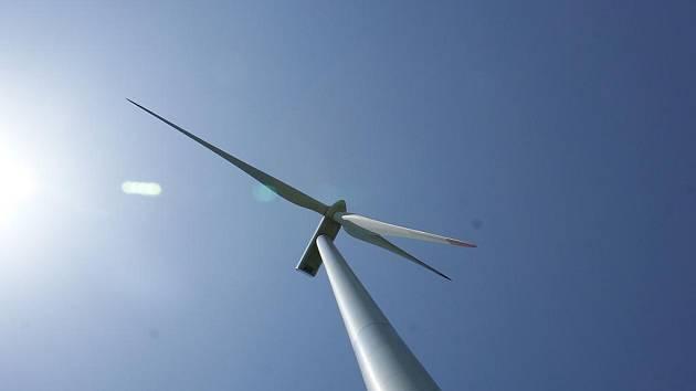 Větrná elektrárna u Drahan