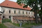 Zámek v Konici - zadní pohled
