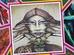 Pozvánka - Lacina-Lacinová - prodejní výstava obrazů