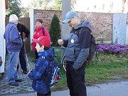 Sobotní véplaz lákal na turistiku i vzpomínku na básníka Petra Bezruče.