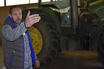 Někdejší prvoligový gólman Tomš Bureš se věnuje soukromému zemědělství.