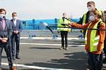 Slavnostní otevření estakády nad železniční tratí v Předmostí - 4. května 2021