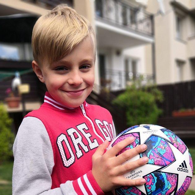 Jaroslav Vinklárek, 8let, Prostějov