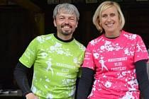RADOST Z BĚHU. To je hlavní motto Martina a Andrey Plachých, kteří organizují největší běžecké závody na Prostějovsku.